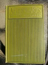 Antique Chartreuse Decor Book - Afterwards, and Other Stories 1898 Ian Maclaren