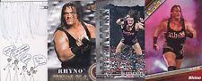 TOPPS WWE TNA 4 RHINO WRESTLING CARDS SEE SCAN