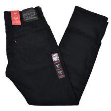 Levis 511 Vaqueros Hombres Slim Fit Jeans Skinny Stretch Denim Pantalones Nuevo