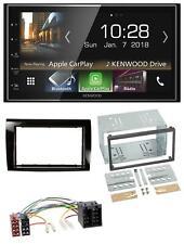 Kenwood 2DIN MP3 AUX USB Bluetooth Autoradio für Fiat Bravo (ab 2007)