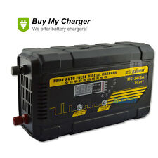 24V 15A Full Automatic Pulse Charging Lead Acid Battery Charger &Black Color