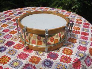 alte Marschtrommel als Snare-Drum modifiziert (14x5 zoll )
