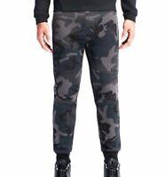 Nike Tech Fleece CAMO Pants Olive / Charcoal 715238 - 010 Men's size 2XL RARE