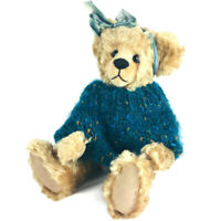 Elegant Creations mohair teddy bear JoElla limited ed 2/3 artist Vicky Lougher