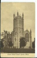 CG-109 MA, Groton, Groton School Chapel Divided Back Postcard  Tucker Publishing
