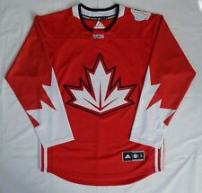 TEAM CANADA ADIDAS 2016 World Cup stitched + PATCH JERSEY SIZE ADULT S Unworn