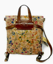 Patricia Nash Luzille Prairie Rose Floral Convertible Backpack