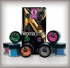 Organic Nails: Kromaglitters Gama Glitter Kroma. Kit Glitter 8 Colors Metalicos