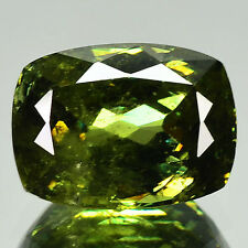 2.50 Cts SHIMMERING RARE HOT HORSE TAIL DEMANTOID GARNET RUSSIA (Video Avl)