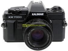 Kalimar KX-7000 con Minolta MD 50mm. f2. Innesto ottiche Minolta MD