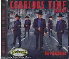 NUEVO - Los Tucanes De Tijuana CD NEW Corridos Time ORIGINAL ALBUM Season 1