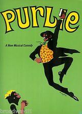 "Robert Guillaume ""PURLIE"" Patti Jo / Sherman Hemsley / Ossie Davis 1971 Program"