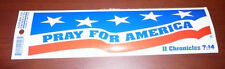 Lot of 100 Pray for our troops Bumper Stickers