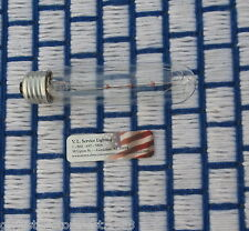 USA new PICTURE light BULB 25T10 Showcase Clear 25w banker's lamp T10 tube E26