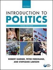 Introduction to Politics, 3rd Edition by P. Ferdinand, R. Garner & S. Lawson