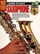 10 EASY LESSONS Saxophone Book + CD & DVD*