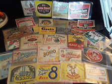 Vtg Collectible Lot Of 31 1930's-1940's Beer Labels