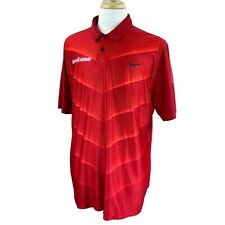 Nike Golf Mens Tiger Woods Collection University South Alabama Red Polo Shirt XL