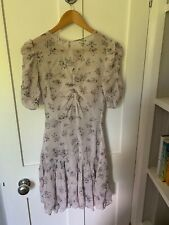 Reiss Rae Ditsy Floral Dress Size 8 VGC