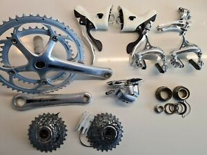 Campagnolo Veloce 10 speed groupset compact silver