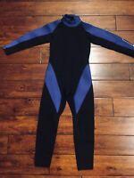 Comp Scuba Full Body Neoprene Wetsuit Youth Kids Boys Girls Sz M