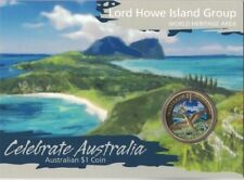 2012 Australia Fraser Island $1 Carded UNC Coin Perth Mint