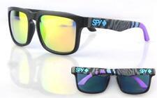 MENS SUNGLASSES BLACK GREY BLUE PURPLE KEN BLOCK SPY REFLECTIVE LENS 100% UV
