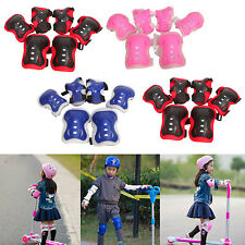 Skating Protective Gear Sets Elbow Knee Pads Bike Skateboard Adult Kid UK