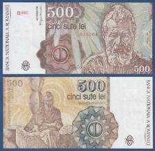 RUMÄNIEN / ROMANIA 500 Lei 1991  UNC  P. 98 b