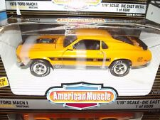 Ertl 1/18 1970 Ford Mustang Mach1 twister special orange NIB