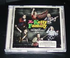 THE KELLY FAMILY WE GOT LOVE LIVE DORTMUNDER WESTFALENHALLE DOPPEL CD NEU & OVP