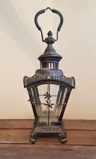 NUOVO stile VINTAGE Grande Metallo marrocchino Tè Leggero Lanterna portacandele NATALE