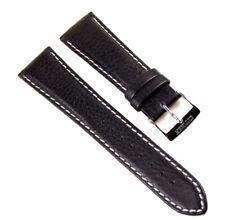 Citizen Ersatzband Uhrenarmband Leder Band schwarz 23mm für BM6511-09
