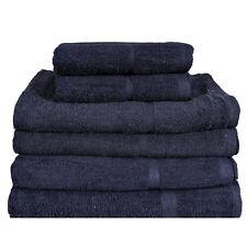 100% Egyptian Cotton Bath Towels Sheet Set Hand Large Bale Luxury Combed Stripe