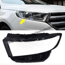 For Ford Edge 2015 2016 2017 2018 Headlight Headlamp Lens Cover Right&Left 2pcs