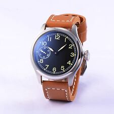 47 mm Parnis Seagull Hand Winding mouvement hommes montre petite seconde inox Case