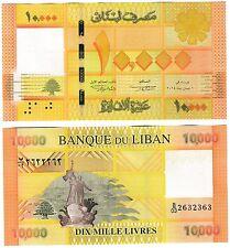 Lebanon 10000 livres 2014 P-92b UNC