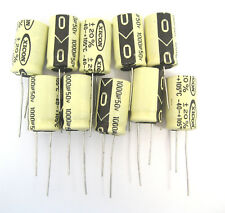 Xicon 1000uF 50V Radial Lead Electrolytic Capacitors: 10/Pack: Great Price