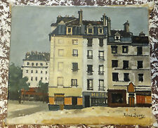 René Durey huile sur toile Oil on canvas French artist  XXème siècle