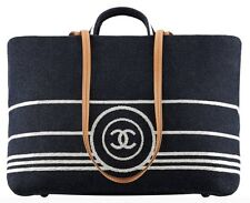 Chanel Deauville denim canvas Large Tote Bag / Pre owned - Excellent condition