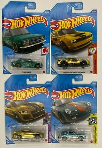 Hot Wheels Super Treasure Hunt Lot 71 Datsun 510 Porsche Outlaw Shelby SRT Demon