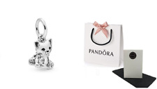 Pandora Sterling Silver Sweet Cat Charm 798011EN16