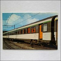 Dutch Railways Corail Coach Postcard (P437)
