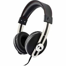 Nakamichi Retro Stereo Headphones - Black w/ Red Thread / NK 2030