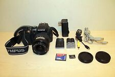 OLYMPUS E-500 8 Megapixel Digital SLR Camera w/ Lens Acc MINT Works Great!