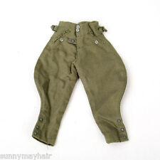 "1/6 WWII German Soldier German breeches 12"" figure bodypants clothing"