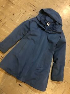 $599 PATAGONIA Tres Parka 3-in-1 Down Winter Coat Blue Womens Small H2NO