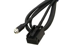 AUX Auxiliary Input Audio Adapter Cable For BMW E39 E53 X5 X5M IPOD IPHONE MP3