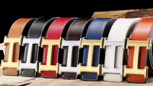 Hermes Belt Luxury POLISHED Buckle Leather 3.8 cm Width