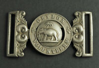 "1881, Sri Lanka (British). ""Ceylon Volunteers"" Officer´s Waist Belt Clasp. Rare!"